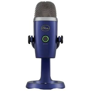 Blue Yeti Nano Premium USB Microphone for Recording and Streaming - Vivid Blue