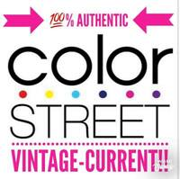 100% Authentic Color Street Vintage Current Retired FREE FAST SHIPPING!