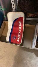 Vintage Koho Revolution Sr Goalie Gm400 Rh Blocker (Montreal Canadains Colors)