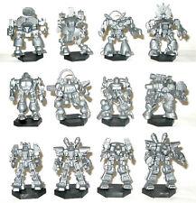 ZOD set of 12 plastic robots 6mm 15mm Tehnolog Battletech Mechwarrior