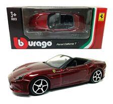 Bburago 1:64 FERRARI California T Race & Play Diecast Car Model 18-56100