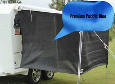 PREMIUM Jayco / Coromal Camper Bagged Bed Fly Set (both ends) - Pacific Blue