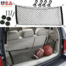 SUV Envelope Nylon Mesh Hatchback Rear Trunk Luggage Storage Organizer Net