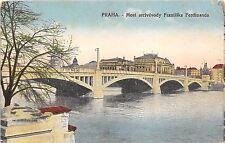 BC60820 Praha most arcivevody Frantiska Ferdinanda czech republic