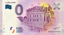 Billet Touristique 0 Euro - Ljubljana - 2018-1