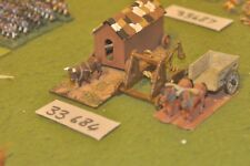 25mm medieval / english - siege equipment (as photo)  figures - baggage (33684)