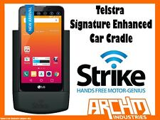 STRIKE ALPHA TELSTRA SIGNATURE ENHANCED CAR CRADLE - BUILT-IN FAST CHARGER