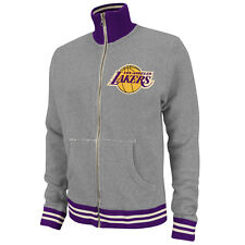 NBA Mitchell & Ness 6026 Vintage French Terry Track Jacket Los Angeles Lakers