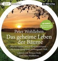 PETER WOHLLEBEN - DAS GEHEIME LEBEN DER BÄUME - ROMAN ROTH   MP3 CD NEW