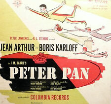 78 rpm album 2 records VG /album:VG   BORIS KARLOFF & JEAN ARTHUR do PETER PAN
