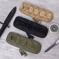 Tactical Molle Knife Pouch Multi Tool Organizer Saber Bag Knives Holder Airsoft