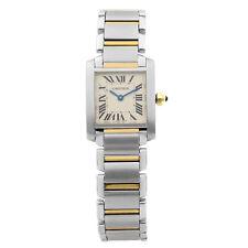 Cartier Tank Francaise de oro amarillo 18K de Cuarzo Reloj de señoras de acero W51007Q4