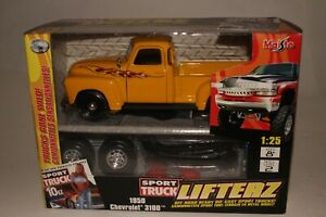 Maisto 1950 Chevrolet 3100 Pickup, Sport Truck Lifterz, Boxed 1/24 Scale Diecast