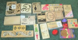 Lot of   Rubber Stamps  Most Unused!!