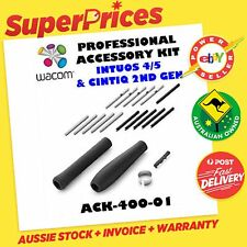 WACOM ACK-40001 INTUOS4 INTUOS5 CINTIQ 21UX 24HD PRO ACCESSORY KIT PEN NIBS GRIP