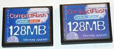 2 Dane-Elec CF Memory Cards 128MB