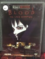 Blood The Last Vampire DVD Mamoru Oshii Ex Noleggio Come Foto N