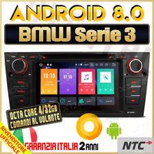 """AUTORADIO 7"""" Android 8.0 DVD OctaCore 4GB 32GB BMW Serie 3 320D E90 E91 E92 -"""