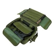 NcStar VISM Padded Double Pistol Range Bag w/Double Stack Magazine Pouches OD