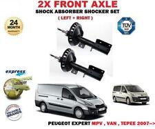 für Peugeot Expert MPV Van Tepee 2007->2 x vorne links rechts Stoßdämpfer Satz