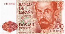 Spanien / Spain 2000 Pesetas 1980 Pick 159 (1)