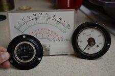 Mercer Weston Electric Instrument Vintage Lot of 3 meters