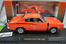 1:24 Chrysler Valiant Charger R/T E49 BIG TANK in Hemi Orange Diecast model