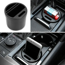 RV Car Yatch Seat Crevice Storage Box Organizer Coin Phone ABS Cup Holder Kit
