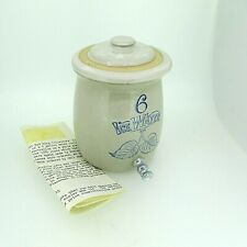 Red Wing Collectors 1985 Limited Edition Stoneware Miniature Ice Water Crock