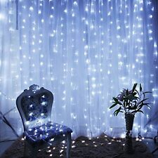 9.8ftx9.8ft 300 LED X-Mas Wedding Party String Fairy Curtain Lights Home Decor