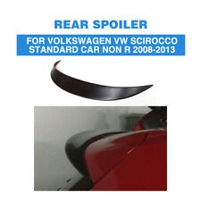 Unapinted FRP Rear Roof Trunk Spoiler Wing For Volkswagen Scirocco Non R 08-13