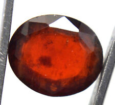 AGSL Certified 4.50 Ct Natural Orange Ceylon Hessonite Garnet Untreated GemStone