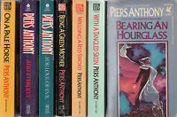 Complete Set Series - Lot of 7 Piers Anthony Incarnations of Immortality Books