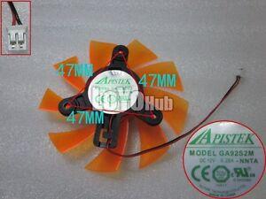 New For ZOTAC GA92S2M graphics card fan 12V 0.28A 2-Pin Diameter 87mm