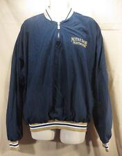 Russell Athletic Men's Notre Dame Fighting Irish Water Resistant Jacket Sz-Large
