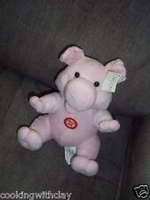 PLUSH DOLL FIGURE CARLTON CARDS TALKING SQUEALING PIG FARM ANIMAL TOY
