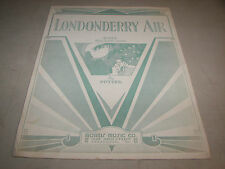 London Derry Air Harold Potter Guitar Sheet Music 1933 Morris Music Co