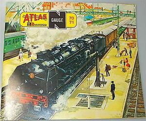 Rivarossi Atlas Catalogue 1970 1971 Å