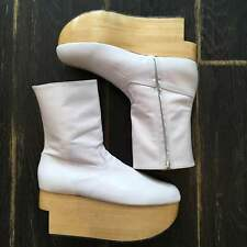 Vivienne Westwood Rockin 'Horse Boots White UK 6 From JAPAN F/S