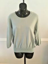 Simply Vera Green 3/4 Sleeve Cotton Blend Sweater NWT! - Large