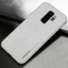 Hybrid Soft TPU Fabric Case Magnetic Shockproof Cover for Samsung Galaxy S9 S8+