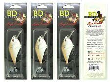 (3) Castaic Boyd Duckett Bd Series Crankbaits Bd2.5 Copper Green Shad Brand New