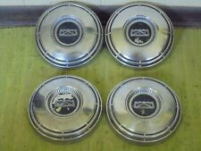 68 69 70 71 72 73 74 Ford Dog Dish Hub Caps 10 12 Set Of 4 Hubcaps Fits Mustang