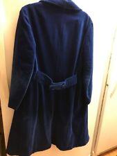 Vintage Brittany Bay Bernard Casuals Vancouver Canada Blue Velvet Peacoat