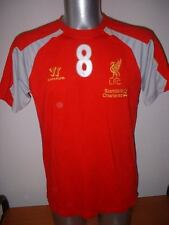 Liverpool Training Adult Large Warrior Football Soccer Gerrard Shirt Jersey Top