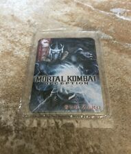 Mortal Kombat Deception Sub-Zero Collector's Series Metal Card #049423
