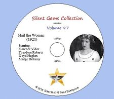 """DVD """"Hail the Woman"""" (1921) with Florence Vidor, Theodore Roberts, Classic Drama"""