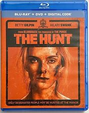 THE HUNT BLU RAY DVD 2 DISC SET FREE WORLD WIDE SHIPPING BUY IT NOW ACTION BETTY
