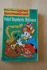 """Disney Lustige Taschenbücher LTB No. 3 """"DagobertsMillionen"""" Erstauflage von 1968"""