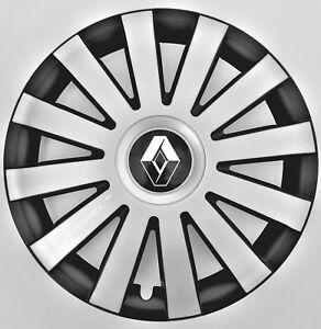"Set of 4x15"" Wheel Trims for Renault Clio,Scenic,Megane"
